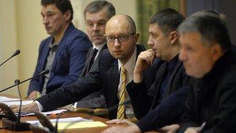 Арсений Яценюк и Вячеслав Кириленко. Архивное фото