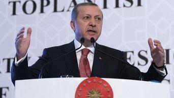 Президент Турции Реджеп Эрдоган заявляет о том, что его страна не стремится к эскалации отношений с Россией после инцидента на границе с Су-24.