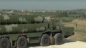 Россия развернула в Сирии ЗРК С-400. Видео