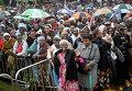 Кенийцы приветствуют Папу Франциска