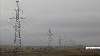Строительство энергомоста из России в Крым