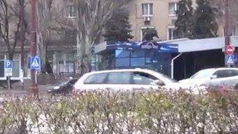 Ситуация в центре Донецка