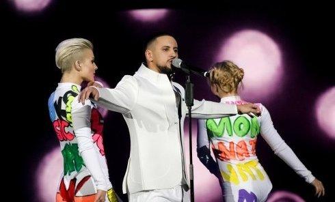 Церемония M1 Music Awards. Big Bang. Начало
