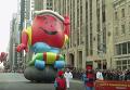 Масштабный парад в честь Дня благодарения в Нью-Йорке. Видео