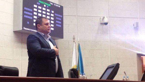 Борис Филатов принял присягу мэра Днепропетровска