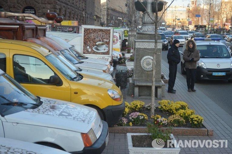 Митинг владельцев автокофеен под КГГА