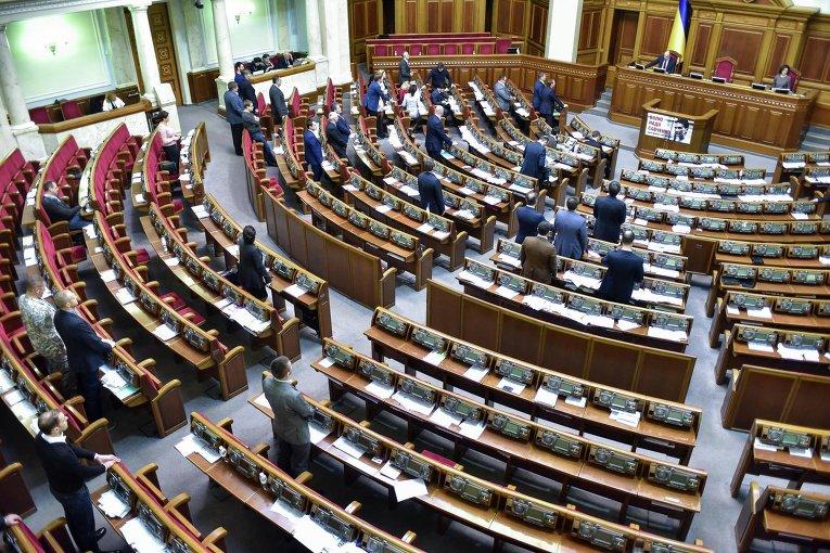 Депутаты почтили память жертв голодомора полупустым залом