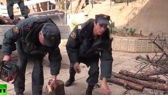 Блэкаут в Крым: генераторы и полевые кухни