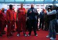 Чемпион мира по версиям WBA, WBO, IBF и IBO украинский боксер Владимир Кличко оказался на 500 граммов легче претендента британца Тайсона Фьюри перед боем в Дюссельдорфе