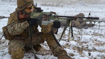 Зимние учения спецназа ВСУ