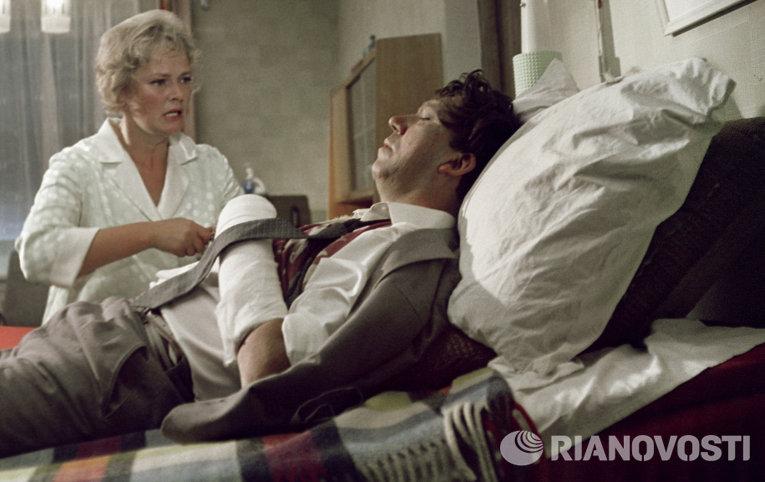 Актриса Нина Гребешкова и актер Юрий Никулин