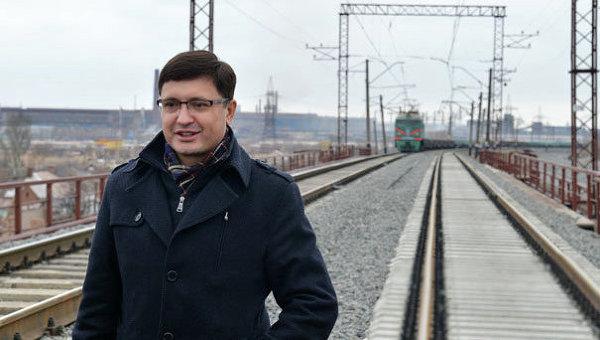 Кандидат на пост мэра Мариуполя Вадим Бойченко