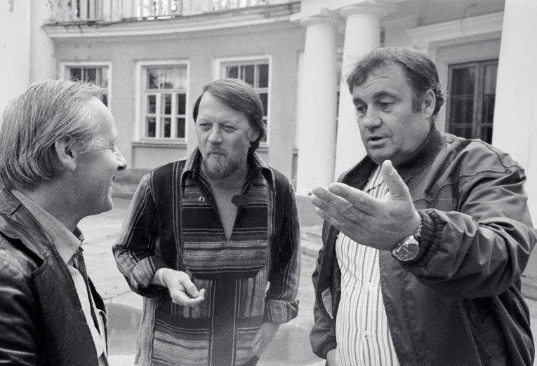 Эльдар Рязанов, Михаил Рощин и Лев Устинов