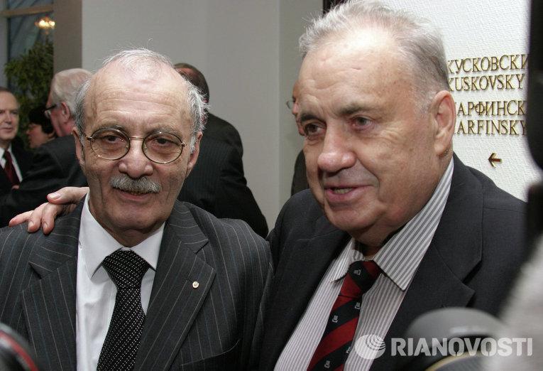 Георгий Данелия и Эльдар Рязанов