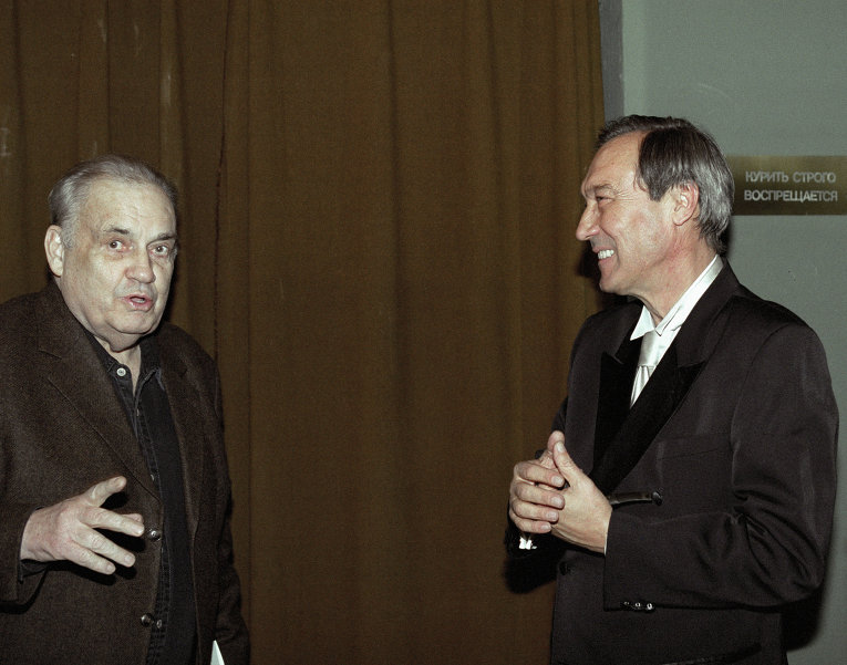 Эльдар Рязанов и Олег Янковский