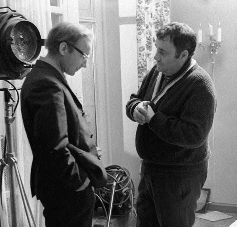 Эльдар Рязанов и Андрей Мягков