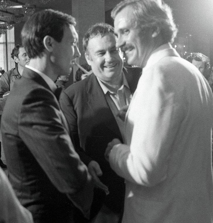 Олег Янковский, Эльдар Рязанов и Никита Михалков