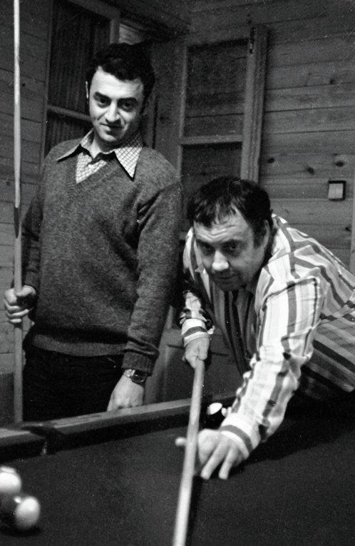 Эльдар Рязанов и Григорий Горин