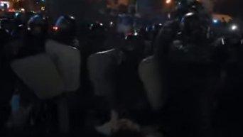 Разгон Евромайдана в ночь на 30 ноября 2013 года. Видео