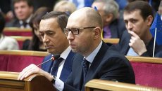 Николай Мартыненко и Арсений Яценюк