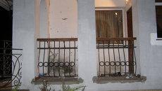 На месте взрыва в жилом доме в Ровно