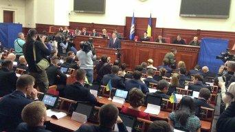 Заседание Киевсоветаю Архивное фото