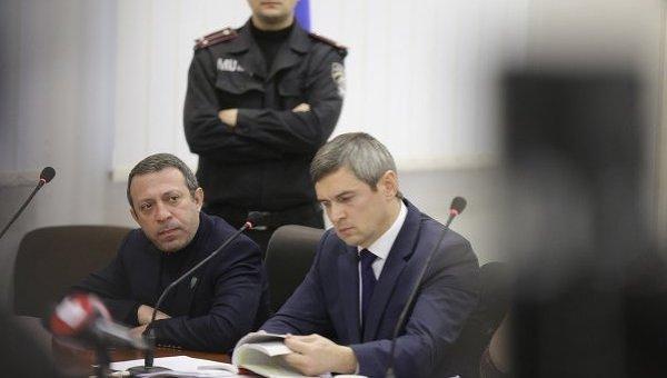 Геннадий Корбан во время рассмотрении апелляции на его домашний арест