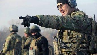 Инструкторы из США тренируют украинских спецназовцев