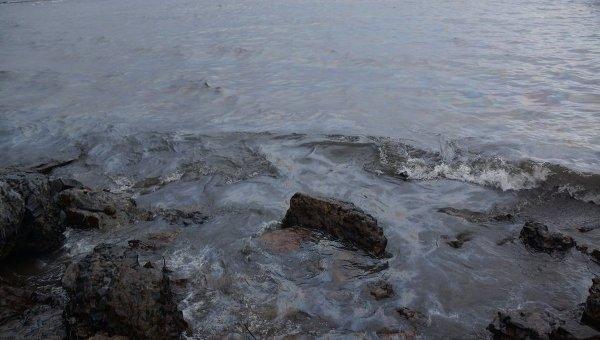 Разлив нефти. Архивное фото