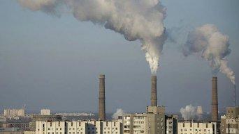 Электростанция в Киеве. Архивное фото