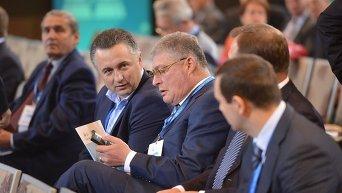 Евгений Червоненко на съезде Федерации работодателей Украины