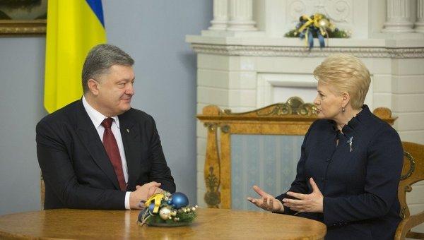 Визит Порошенко в Литву
