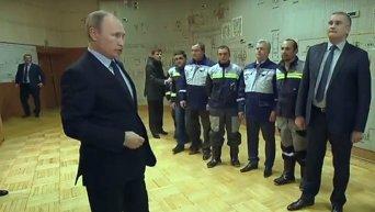 Владимир Путин дал старт поставкам электроэнергии в Крым по энергомосту из Кубани