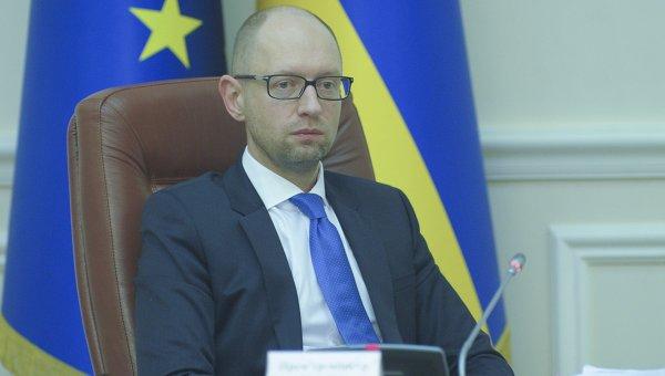 Арсений Яценюк на заседании правительства 2 декабря 2015 г