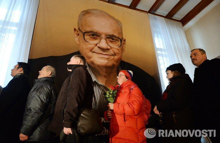 Прощание с Эльдаром Рязановым