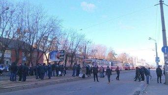 Протест предпринимателей в Киеве: заблокирована ул. Красногвардейская