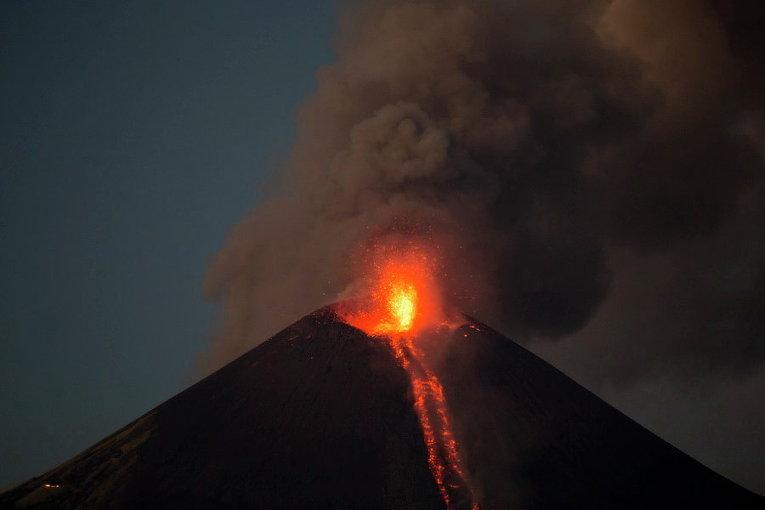 Вулкан в Никарагуа