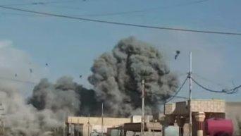 Боевые действия иракской армии против ИГ возле города Эр-Рамади. Видео