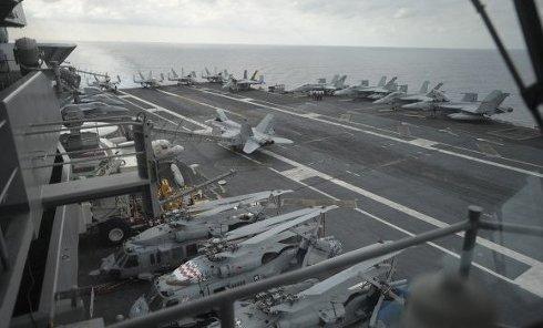 """Атомный авианосец ВМС США """"Гарри Трумэн"""". Архивное фото"""