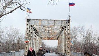 Пешеходный переход на Станицу Луганская