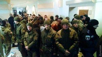 Давка в Малиновском районном суде, который рассматривает дело 2 мая