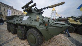 Выставка военной техники от Укроборонпрома в Киева