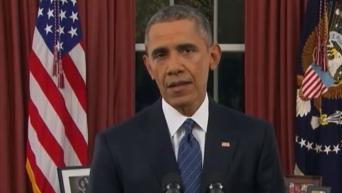 Обращение Обамы к нации. Видео