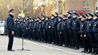 Присяга патрульной полиции в Николаеве