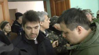 Как Семенченко и Соболев выгоняли из мэрии Кривого Рога Вилкула. Видео