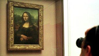 Картина Леонардо да Винчи Мона Лиза (Джоконда)