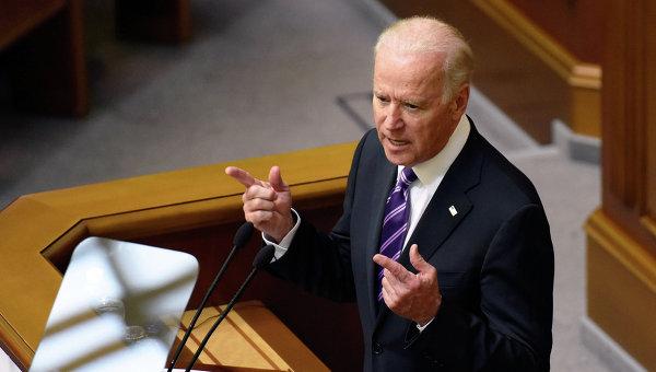 Вице-президент США Джозеф Байден выступил на заседании Верховной Рады