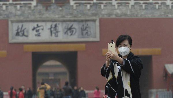 Третий день сильного смога в Пекине