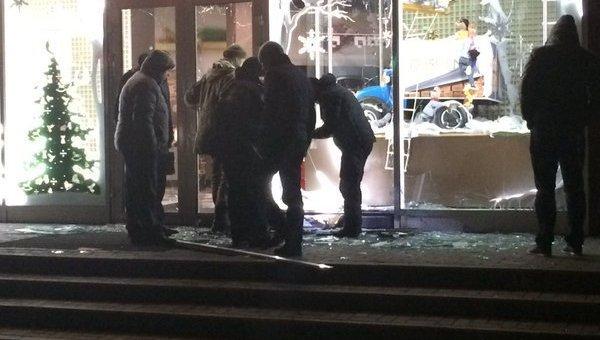 Взрыв в Харькове возле магазина Roshen