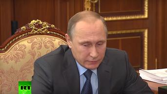 Шойгу передал Путину черный ящик со сбитого в Сирии Су-24